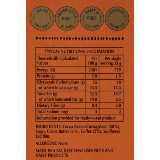 Afrikoa_55%_Semi_Sweet_Chocolate_Coffee_Etikette