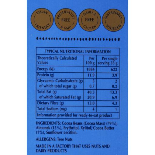 Afrikoa_80%_Sugar_free_Chocolate_Almonds_Etikette