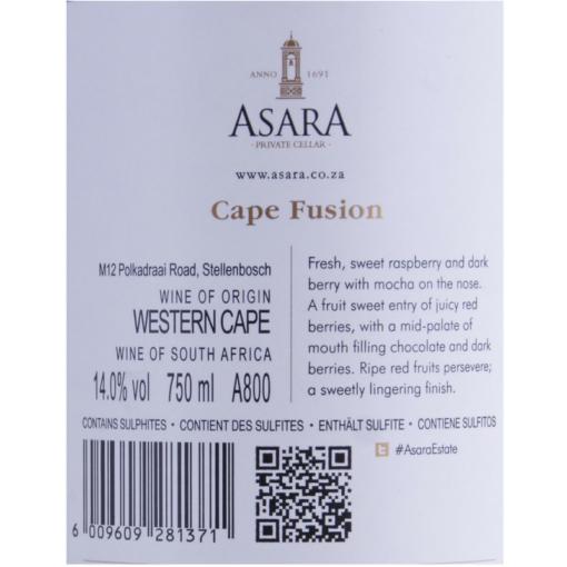 Asara_Cape_Fusion_Etikette