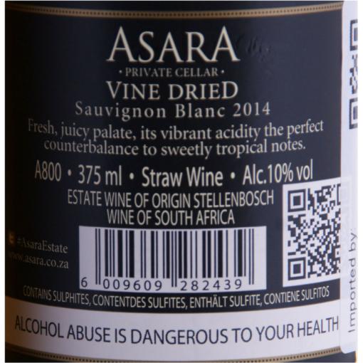 Asara_Sauvignon_Blanc_Vine_Dried_Etikette