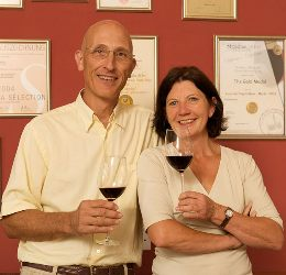 Bein Wine Luca und Ingrid Bein