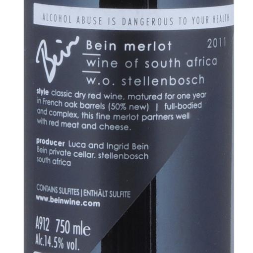 Bein_Merlot_Etikette