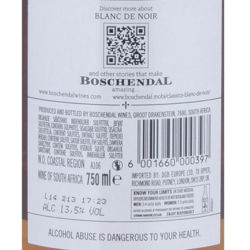 Boschendal_Blanc_de_Noir_Rosé_Etikette