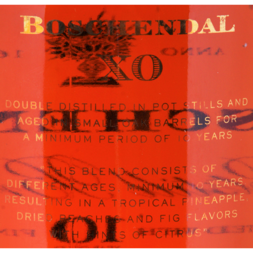 Boschendal_Brandy_10_years_Etikette