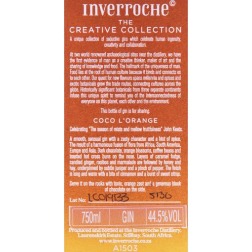 Inverroche_Gin_Coco_Lorange_Etikette