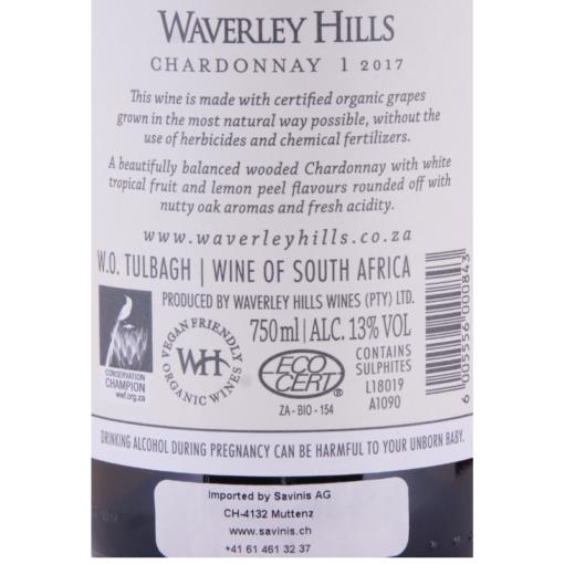 Waverley_Hills_Chardonnay_Etikette