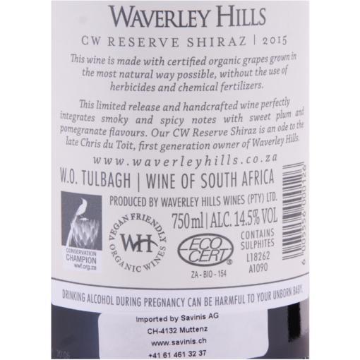 Waverley_Hills_Shiraz_Etikette